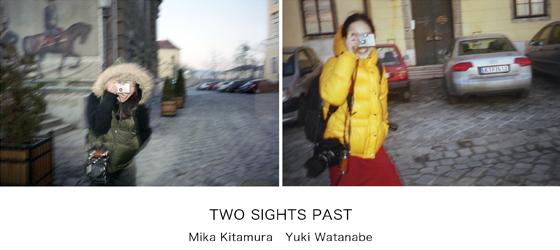 喜多村みか+渡邊有紀展覧会『TWO SIGHTS PAST』