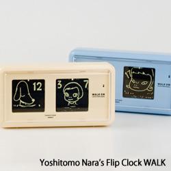 Yoshitomo Nara's Flip Clock WALK ON