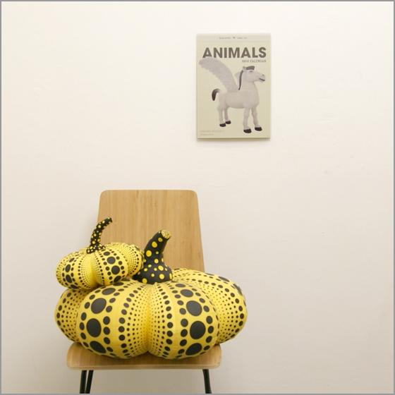 【新商品のお知らせ】三沢厚彦アートグッズ「2014年 ANIMALS カレンダー」