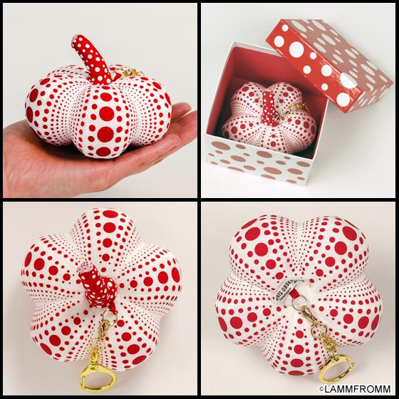 【新商品】草間彌生 x ラムフロム 「Pumpkinマスコット(ホワイト)」