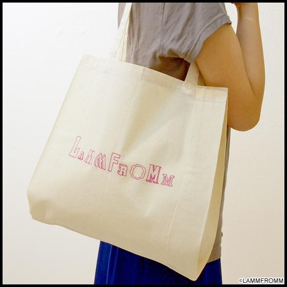 【ラムフロム HINKA RINKA 銀座店】☆ラムフロムオリジナルエコバッグプレゼント☆